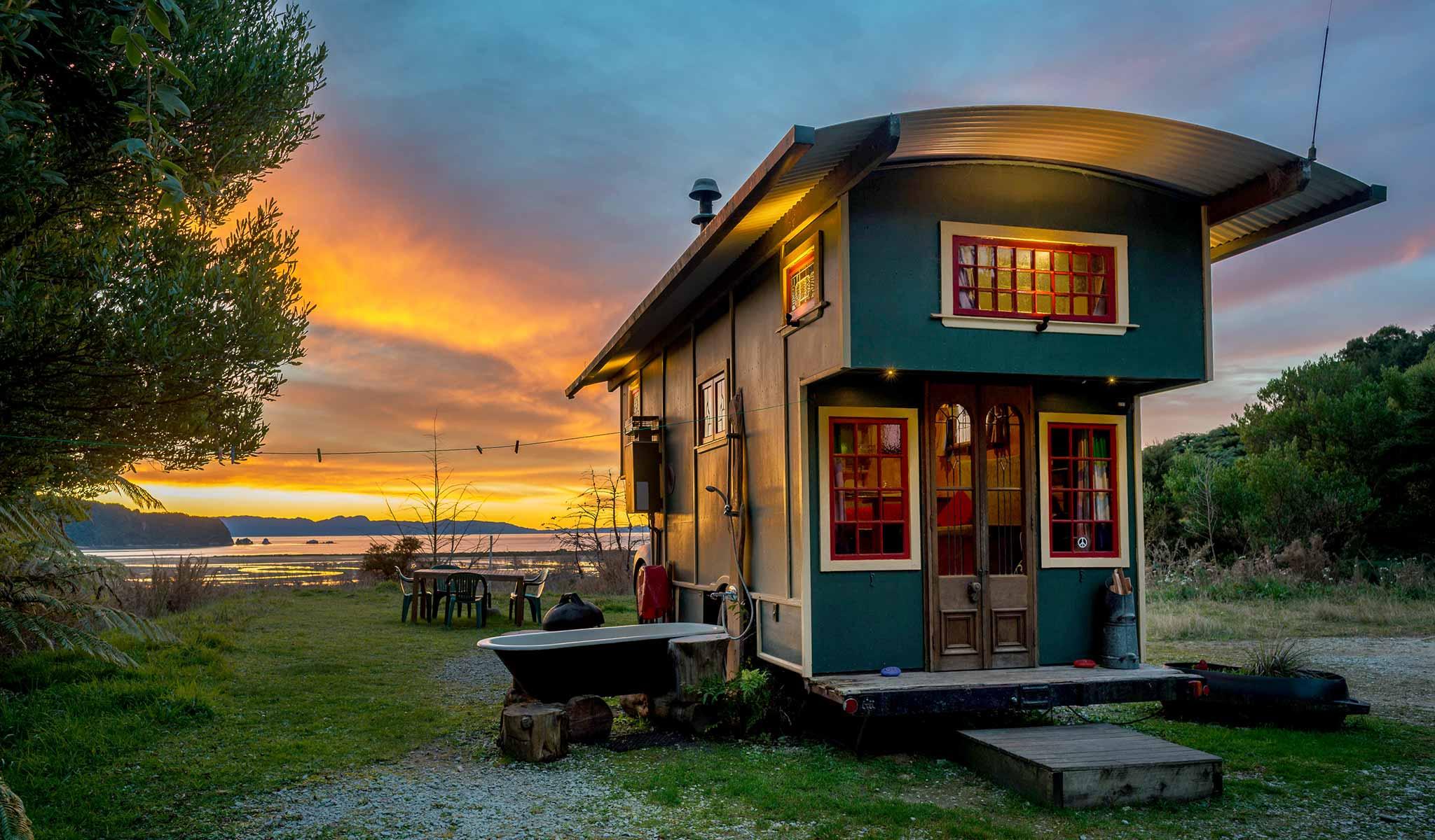 Awe Inspiring Accommodation In Wainui Bay Best Image Libraries Weasiibadanjobscom
